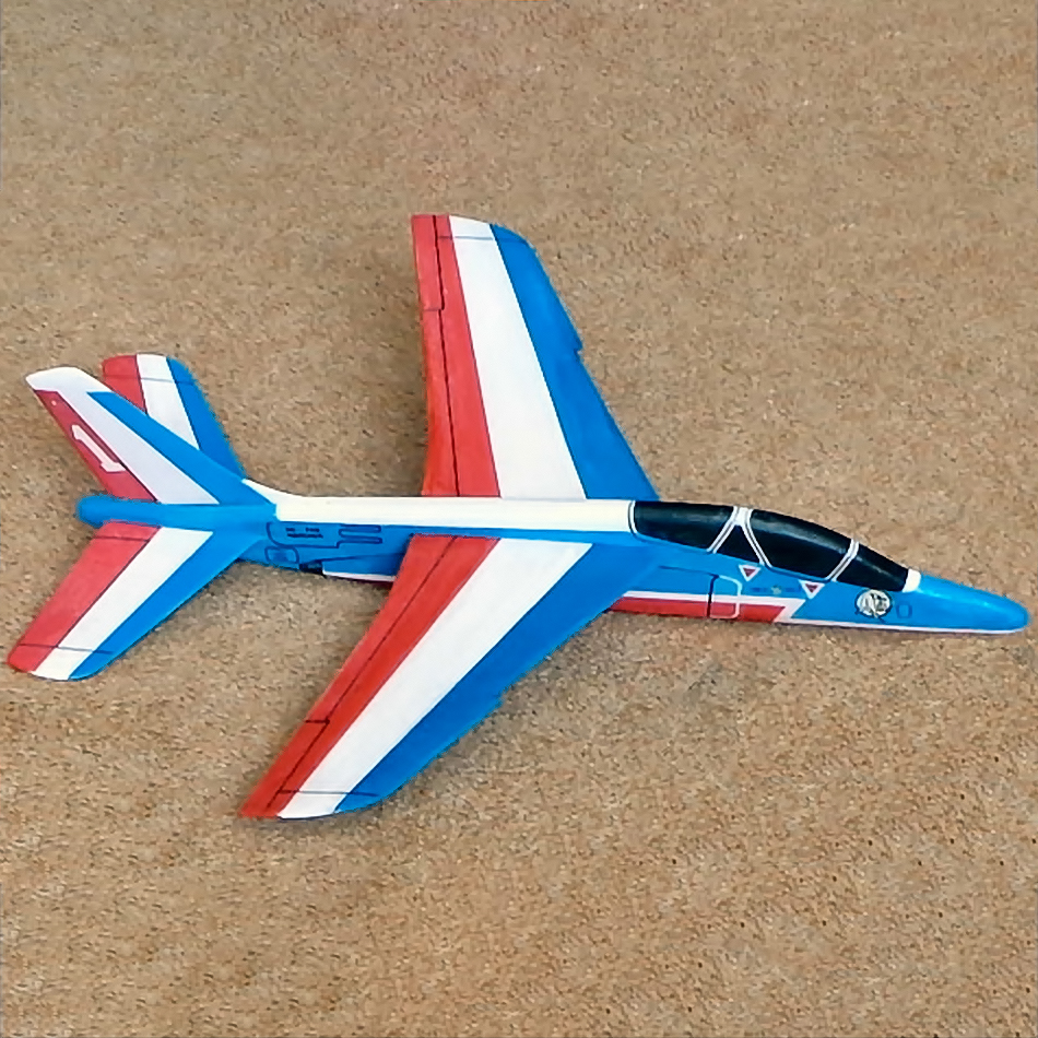 Original Jetex.org Profile Models - Alpha Jet