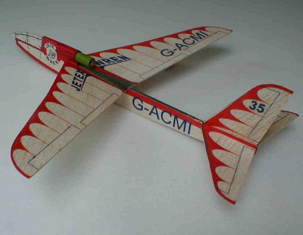 Howard Metcalfe's Wren fwith L-1.  A great beginner's model from the 1950's!