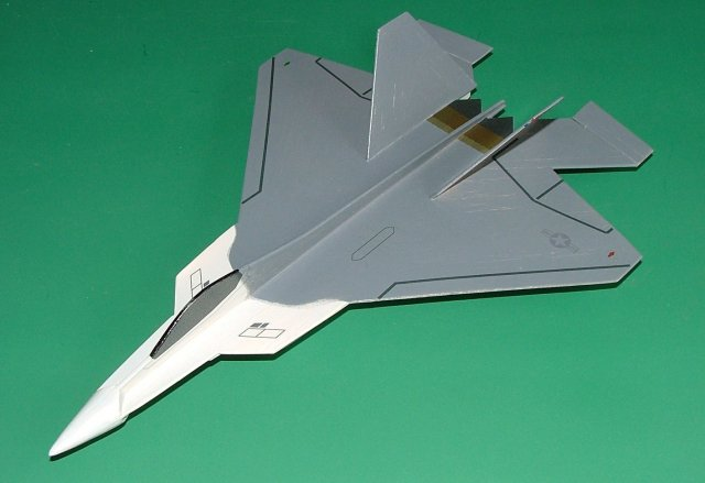 Mark Digby's Semi-profile YF-22 Raptor