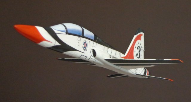 Another shot of the T-38.  It's a spectacular flyer!
