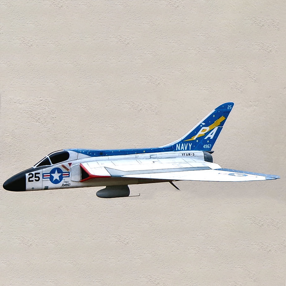Bill Dean's Profile Model - F4D Skyray