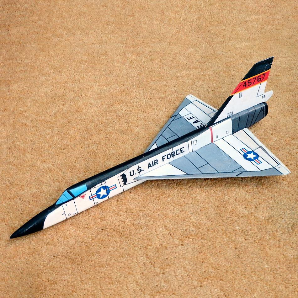 Original Jetex.org Profile Models - F-106 Delta Dart
