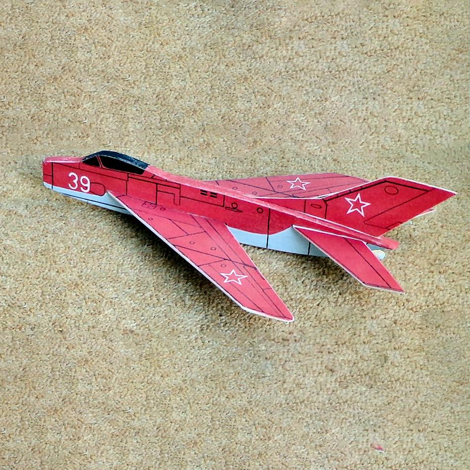 Original Jetex.org Profile Models - MiG 19