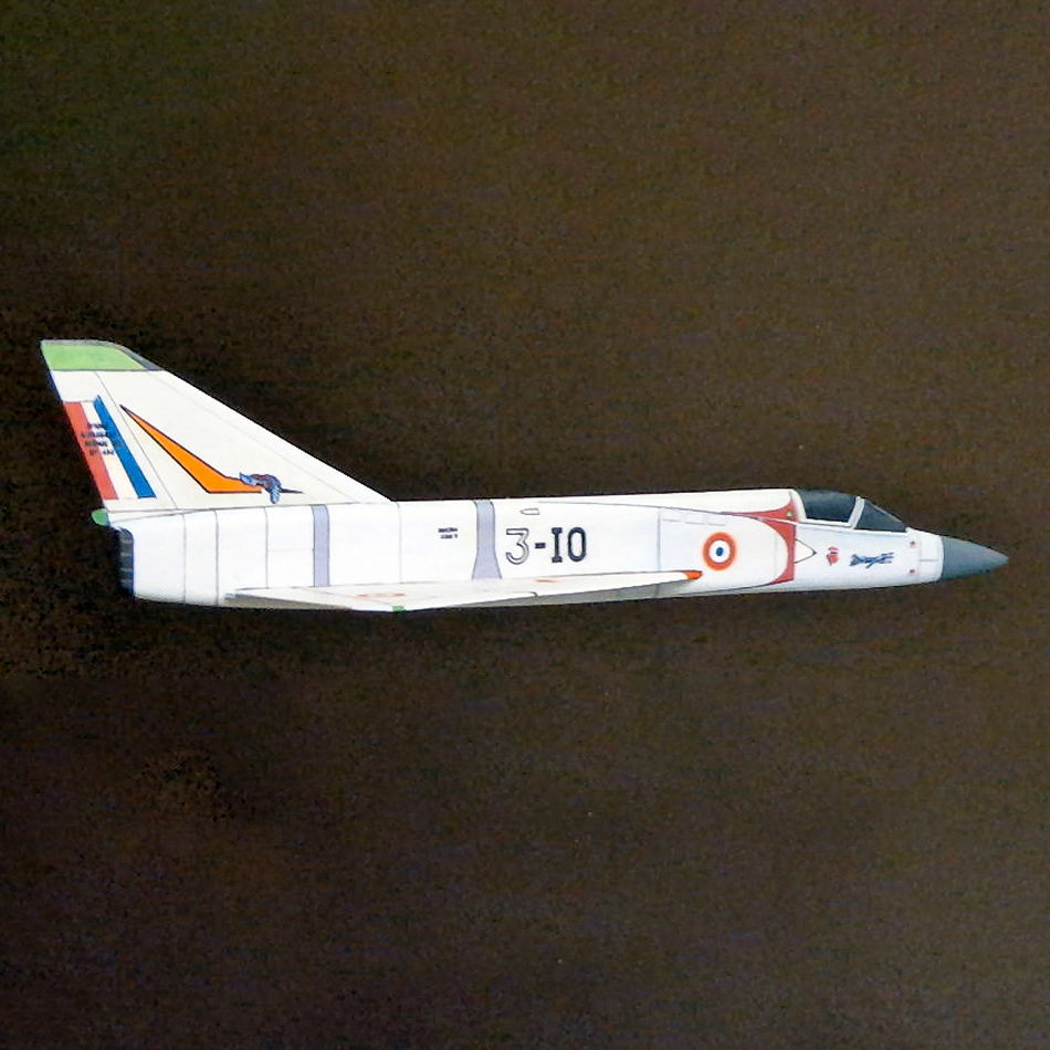 Original Jetex.org Profile Models - Mirage III